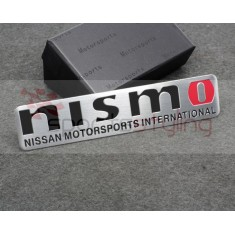 NISMO 'Motorsports International' Badge