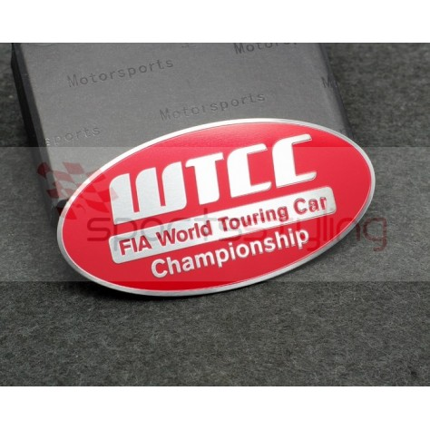 WTCC Badge in Red