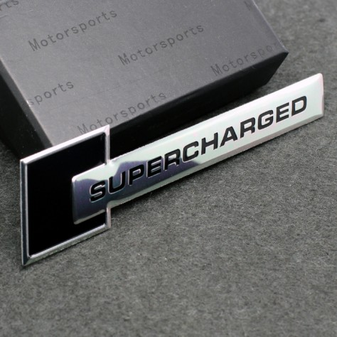 Audi 'Supercharged' Badge