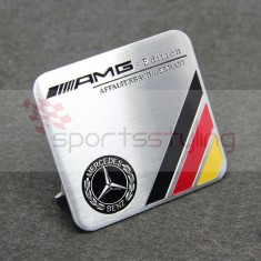 German Colours AMG Mercedes Badge