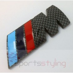 BMW 'M' Motorsport Badge in Carbon