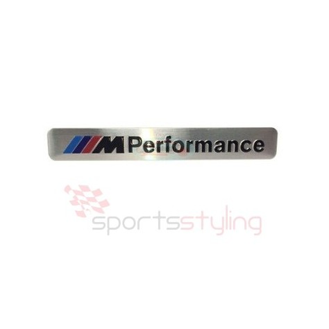 BMW 'M' Performance Badge (Silver)
