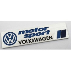 Volkswagen Motorsport Badge