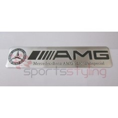 AMG Mercedes Badge 'SLK Webspecial'