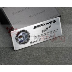 AMG Mercedes Badge No. 6 (Colour Logo)