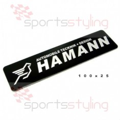 Hamann Badge