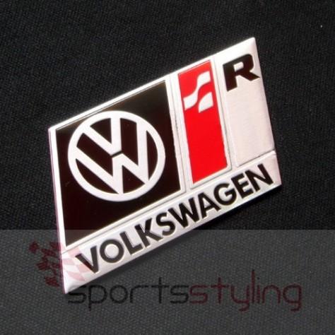 Volkswagen R Line Motorsport Badge (black)