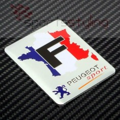 Peugeot 'French Flag' Sport Badge