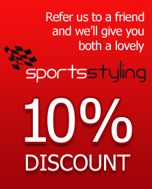 Sportsstyling Refer a Friend Discount